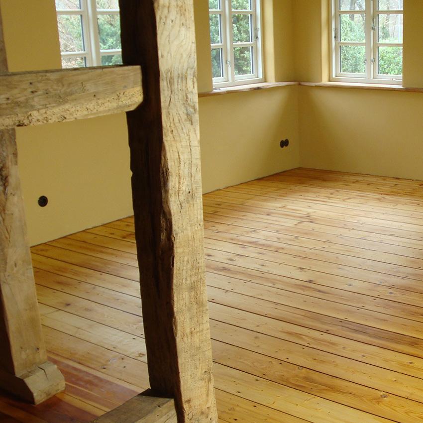 Fachwerk-Holz-Innenausbau