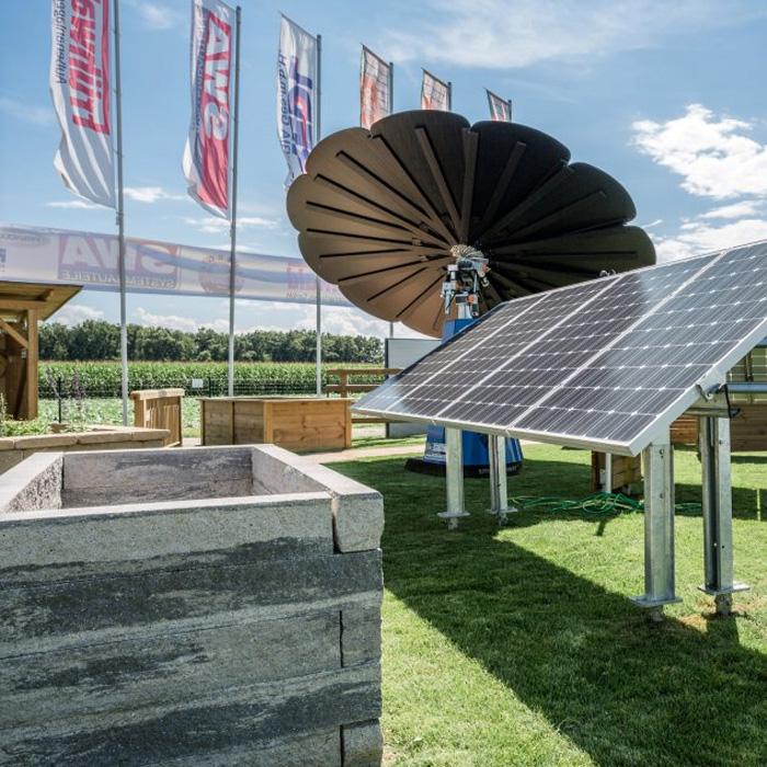 Schraubfundament-PV-Solaranlagen
